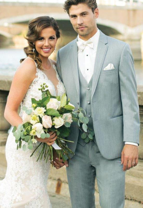 Light Gray Wedding Tux