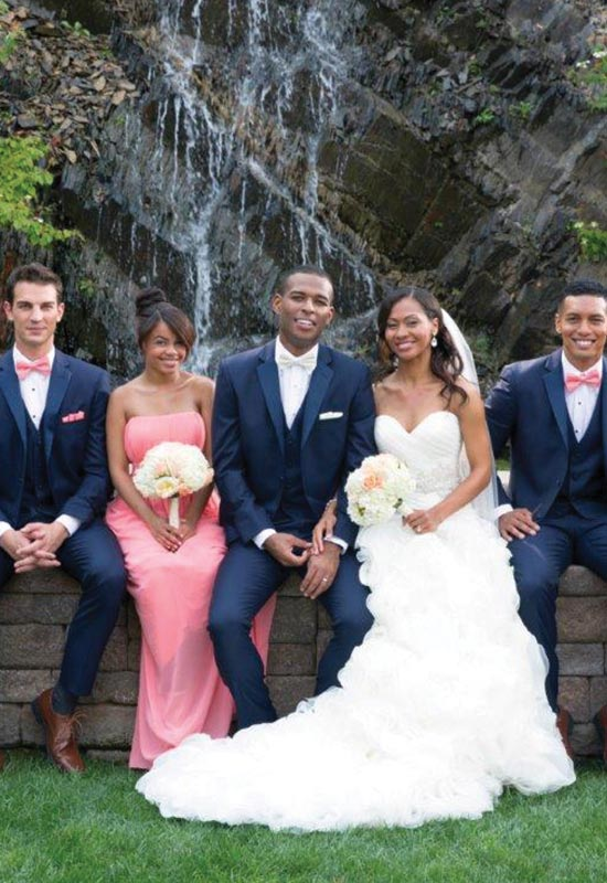 Navy Wedding Suit for Groom and Groomsmen for rental and purchase Gray Prom homecoming tux rental Checkerboard Slim Fit wedding tux Burgundy Paisley Suit Jacket suit tux for rental or purchase at Love it at Stella's Tux Shop in Westminster, MD
