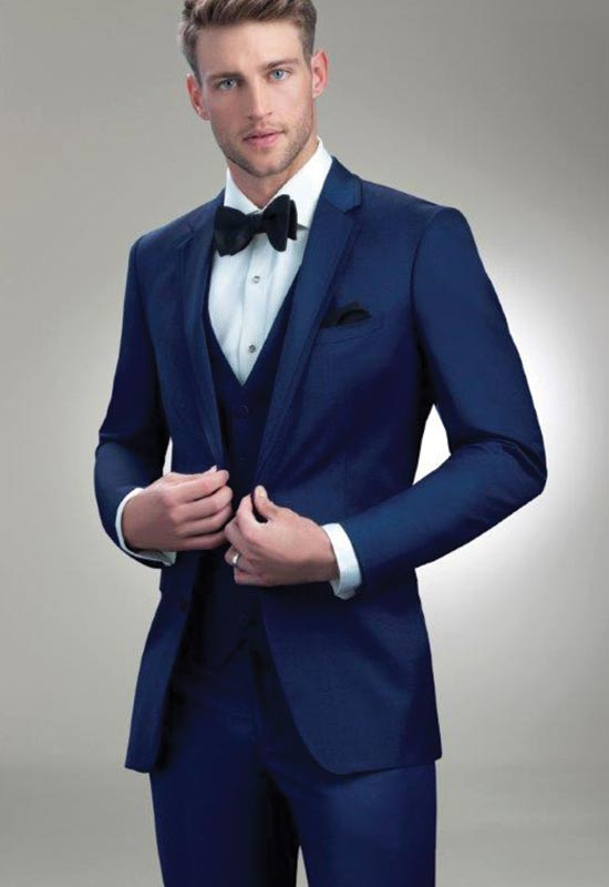 Slim Navy wedding Tux for rental and purchase Burgundy Paisley Suit Jacket suit tux for rental or purchase at Love it at Stella's Tux Shop in Westminster, MD