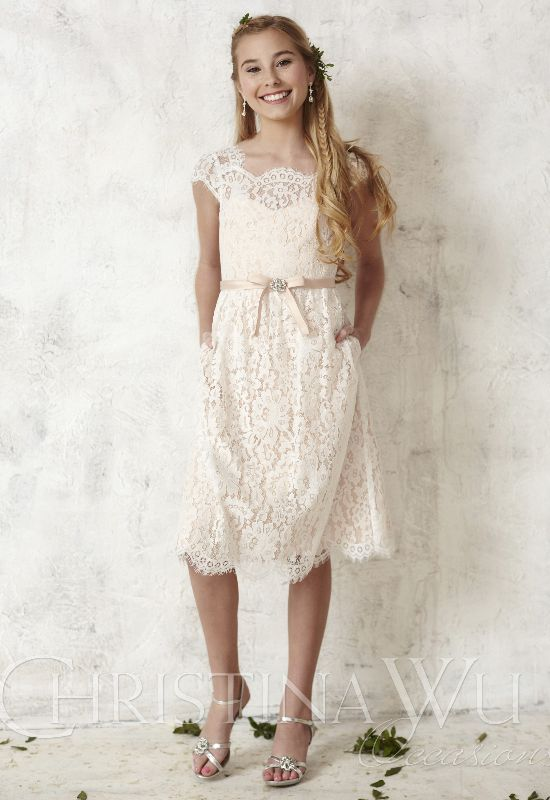 Christina Wu Flower Girl Gowns and Colorful Flower Girl Dresses at Love It! At Stella's in Baltimore Maryland
