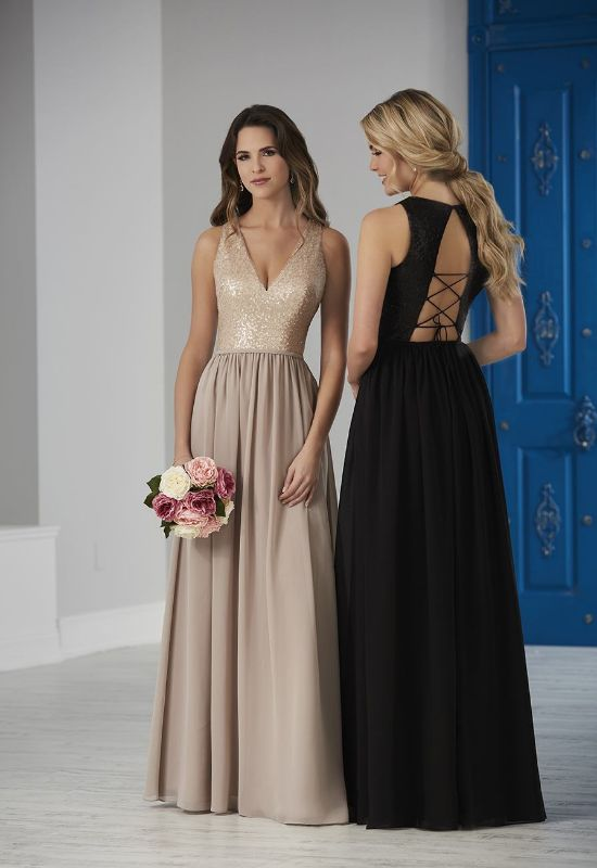 bridesmaid dresses at love it at stellas bridal shop in maryland