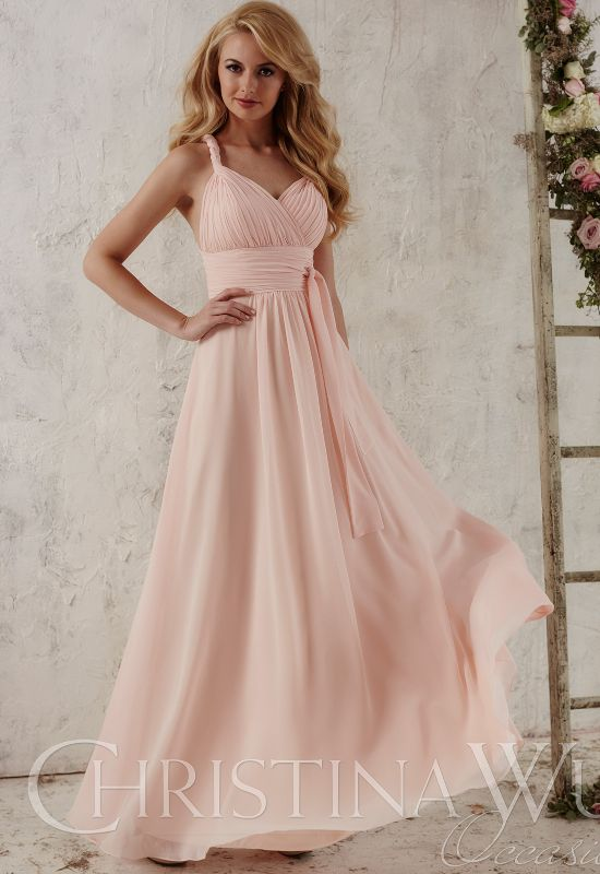 Christina Wu Occasion bridesmaid dress at love it at stellas bridal boutique in baltimore maryland