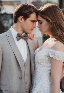 Latte Tuxedos at Love it at Stella's Bridal in Westminster, MD