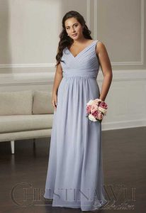 Christina Wu Bridesmaid Dress for Plus Size Curvy Women at Love it at Stella's Bridal in Westminster, MD
