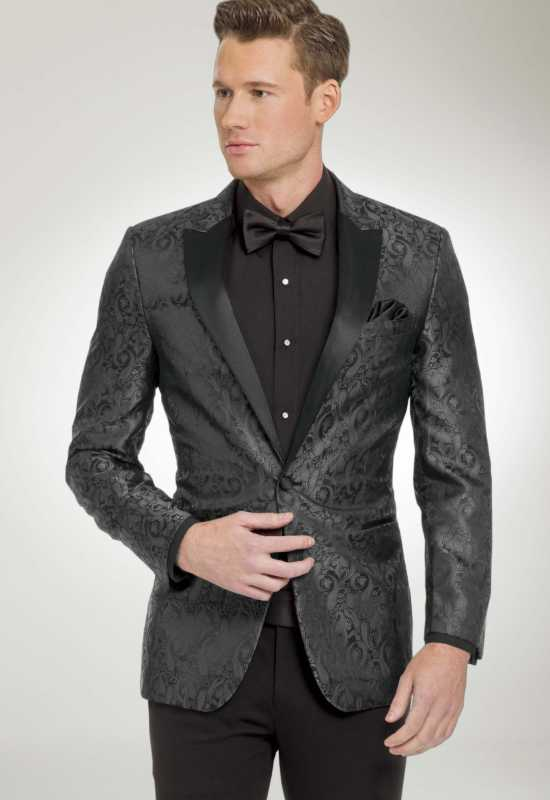 Charcoal Paisley Suit jacket at Love it at Stella's Bridal Tux Shop in Westminster, MD
