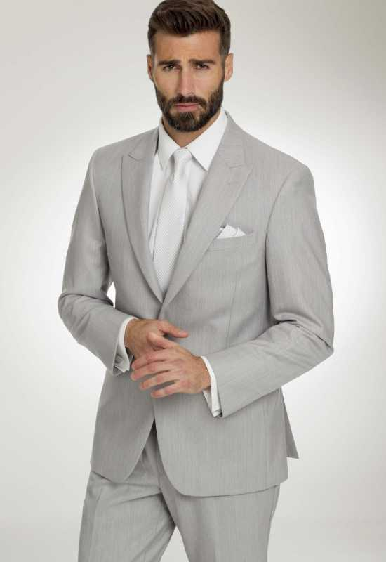 Light Grey Tux suit for rental and purchase at Love it at Stella's Tux Shop in Westminster, MD