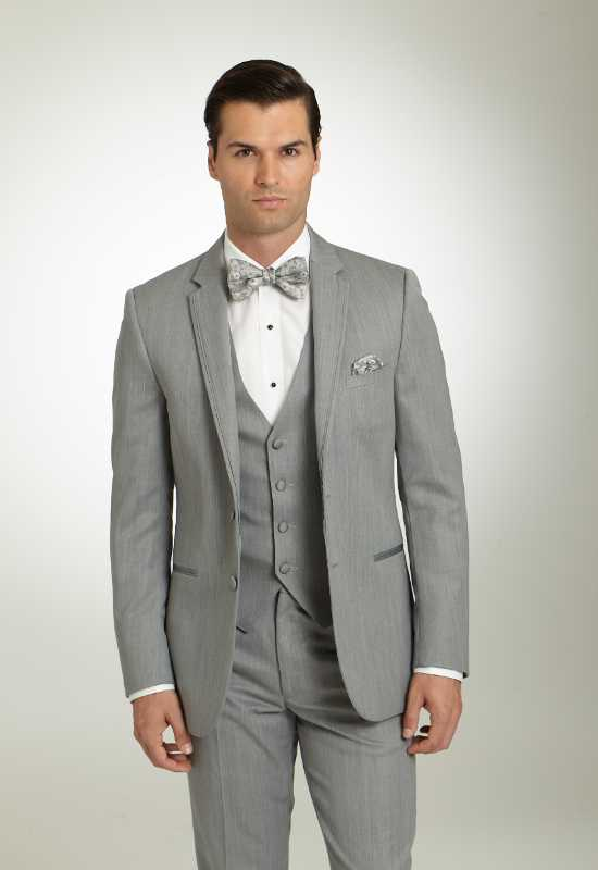 MK Chrome silver grey suit tuxedo Cornflower Blue Suit Tuxedo for rental and purchase at Love it at Stella's Tux Shop in Westminster, MD