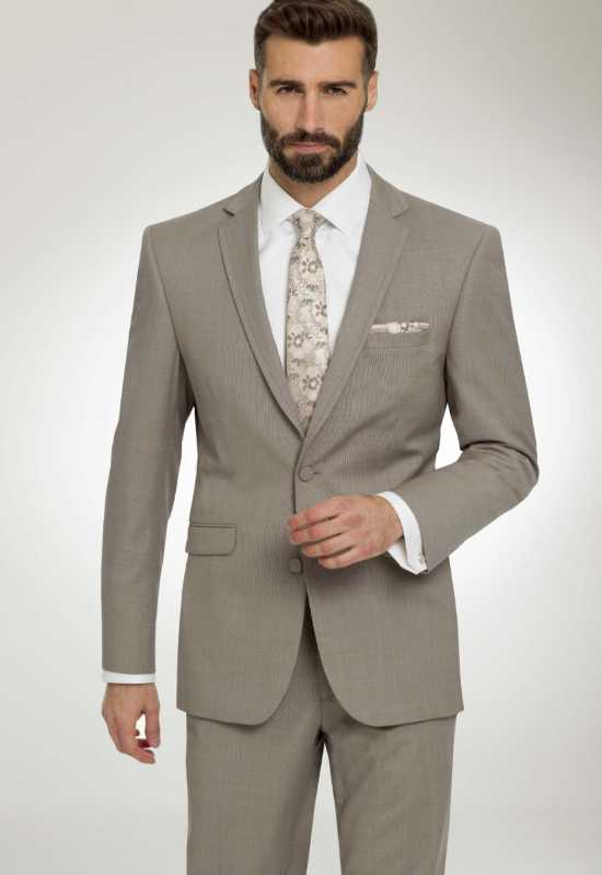 Gray Suit for rental and purchase weddings prom and homecoming at Love it at Stella's Tux Shop in Westminster, MD
