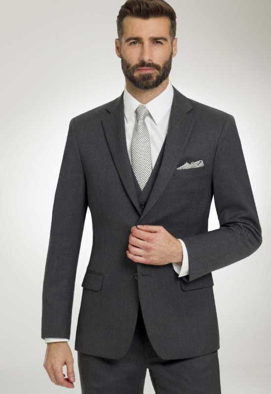 Gray Tux Gray Suit for rental and purchase at Love it at Stella's Tux Shop in Westminster, MD