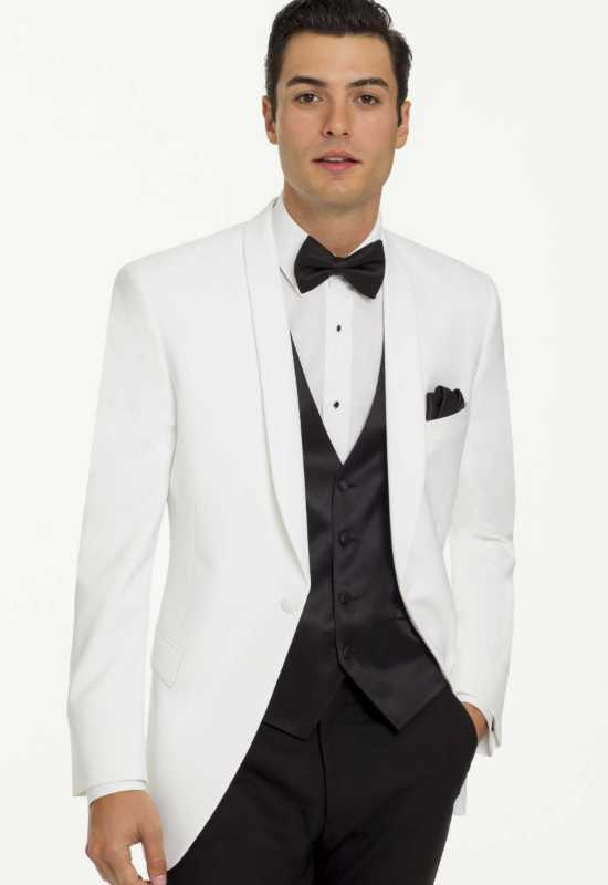 White Chadwick Tux for rental and purchase at Love it at Stella's Tux Shop in Westminster, MD
