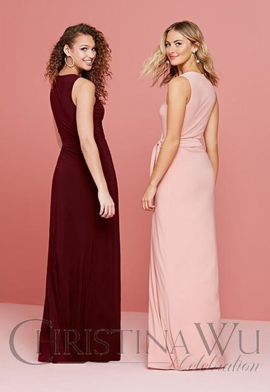 Christina Wu Celebrations Bridesmaid Dress available to try on at Love it at Stella's Bridal in Westminster, MD Baltimore Maryland Bridal Shop