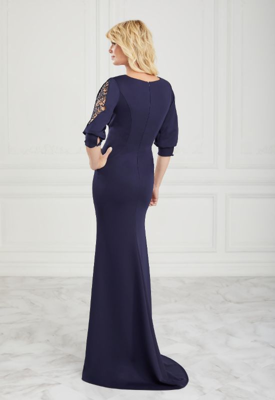 Christina Wu Elegance Mother of the Bride/Groom dress in Navy at Love it at Stella's Bridal in Westminster, MD