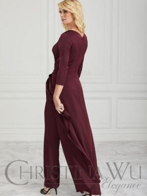 Christina Wu Elegance Mother of the Bride/Groom Formal Pantsuit Jumpsuit at Love it at Stella's Bridal in Westminster, MD