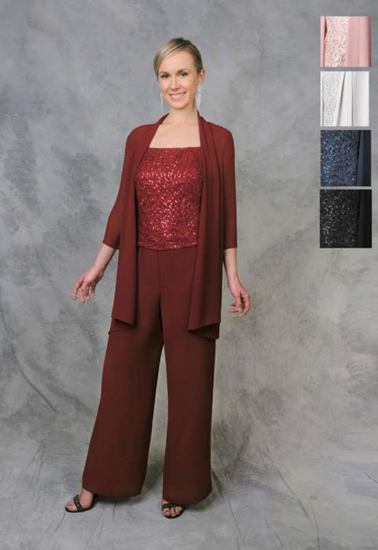 Mona by Magic Moms Pants suit for mother of the bride mother of the groom grandmother of the bride dress at Love it at Stella's Bridal in Westminster, MD