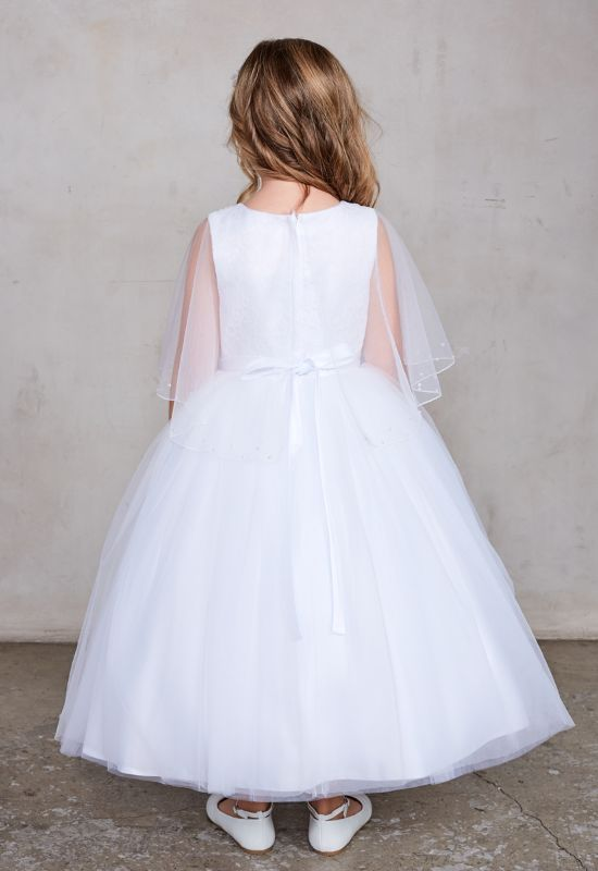 Flowergirl First Communion Dress for little girls at Love it at Stella's Bridal in Westminster, MD greater baltimore bridal shop near me