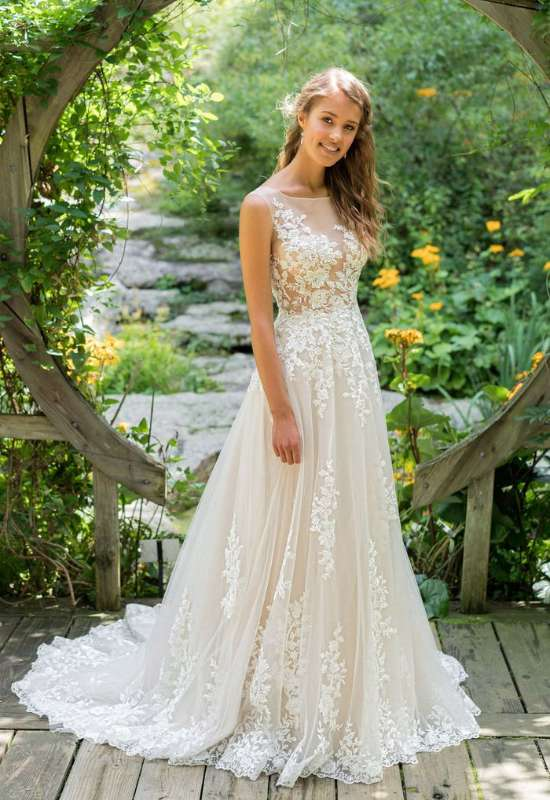 66024 Lily by Lillian West by Justin Alexander at Love it at Stella's Bridal in Westminster, MD
