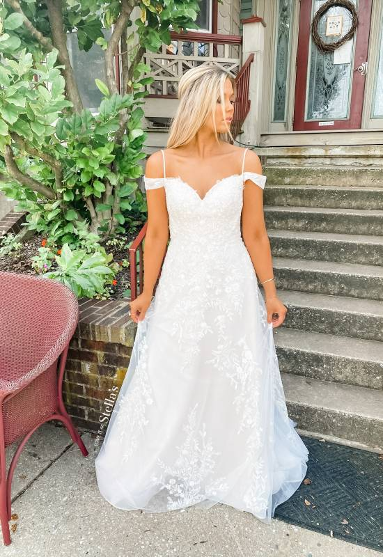 Stella's Exclusive Collection Wedding Dress at Love it at Stella's Bridal in Westminster, MD