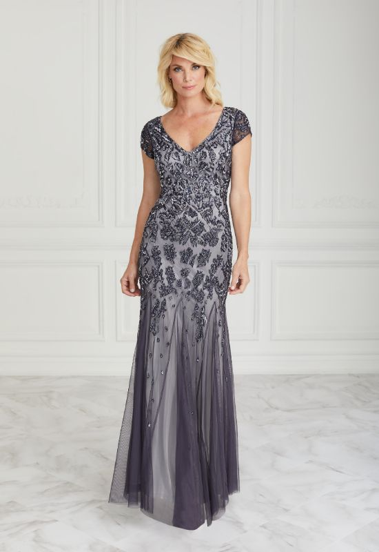 Mother of the Bride dress in dusty lavender at Love it at Stella's Bridal in Westminster, MD